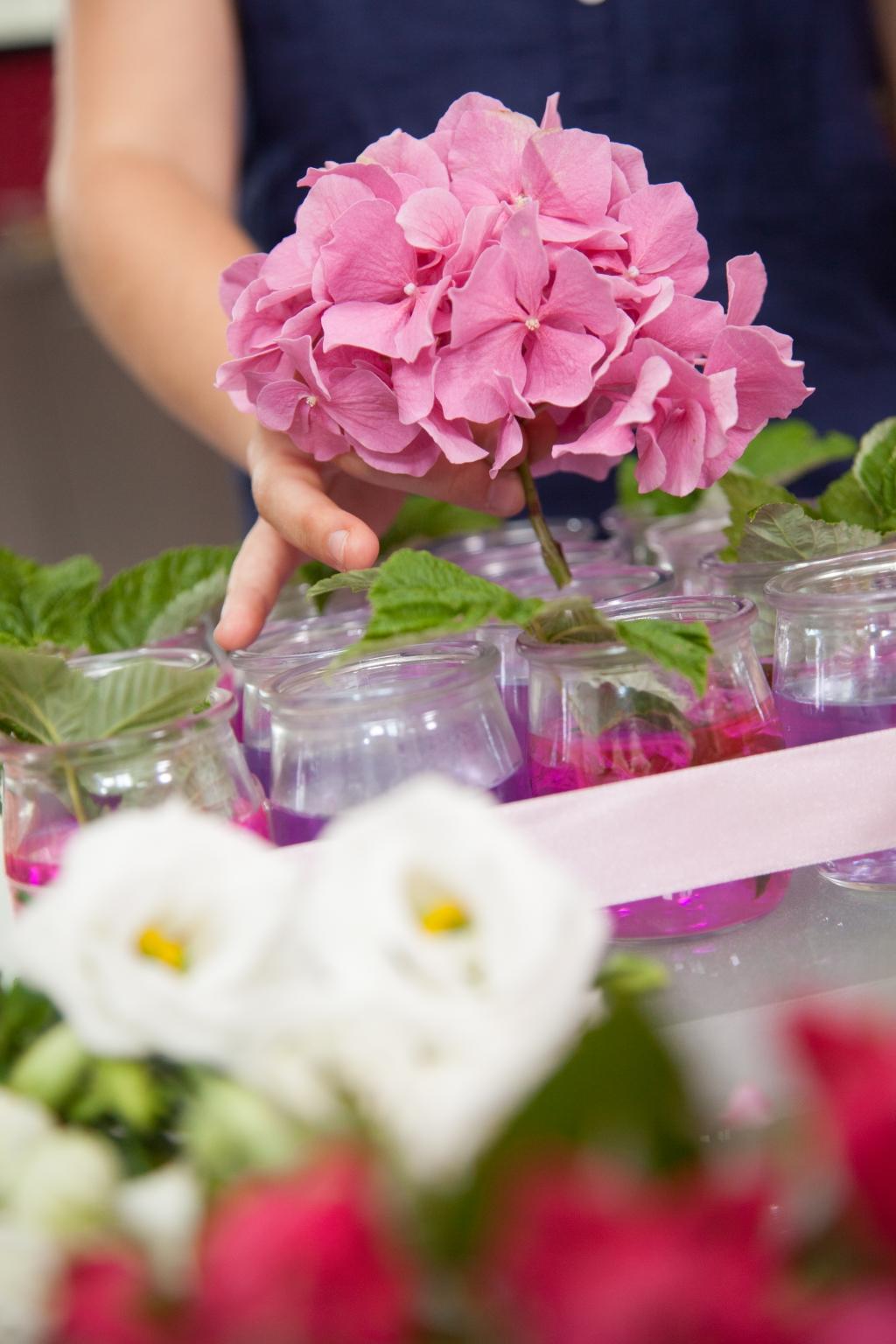 Composition florale pour la fête des mères - Etape 10