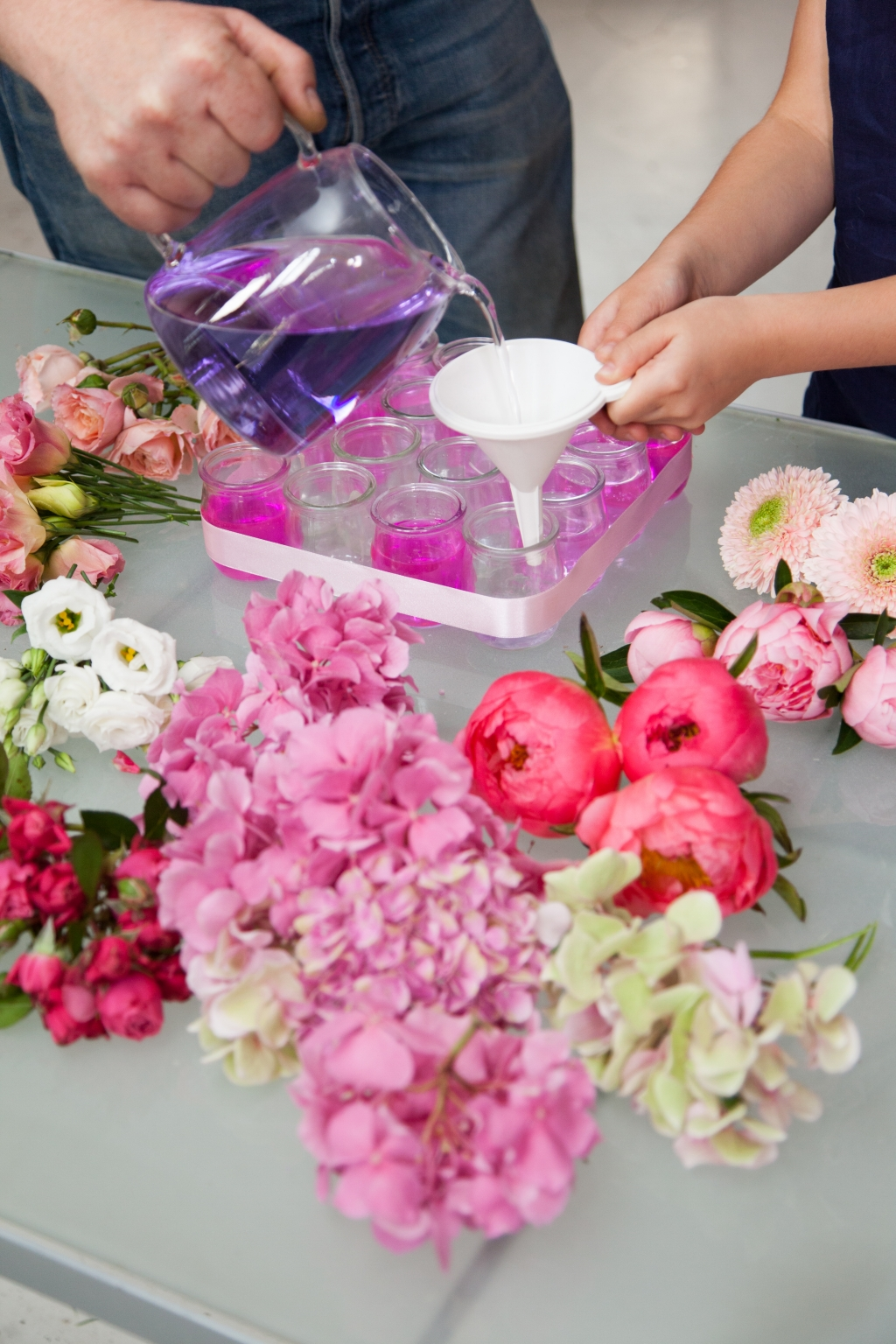 Composition florale pour la fête des mères - Etape 8