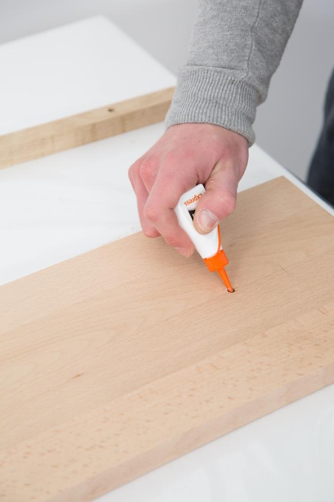 Créer un porte manteau en épi - Étape 11