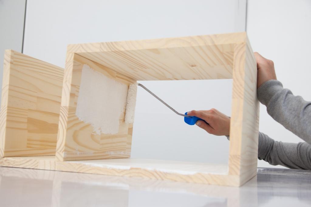 Créer une table de chevet - Étape 10