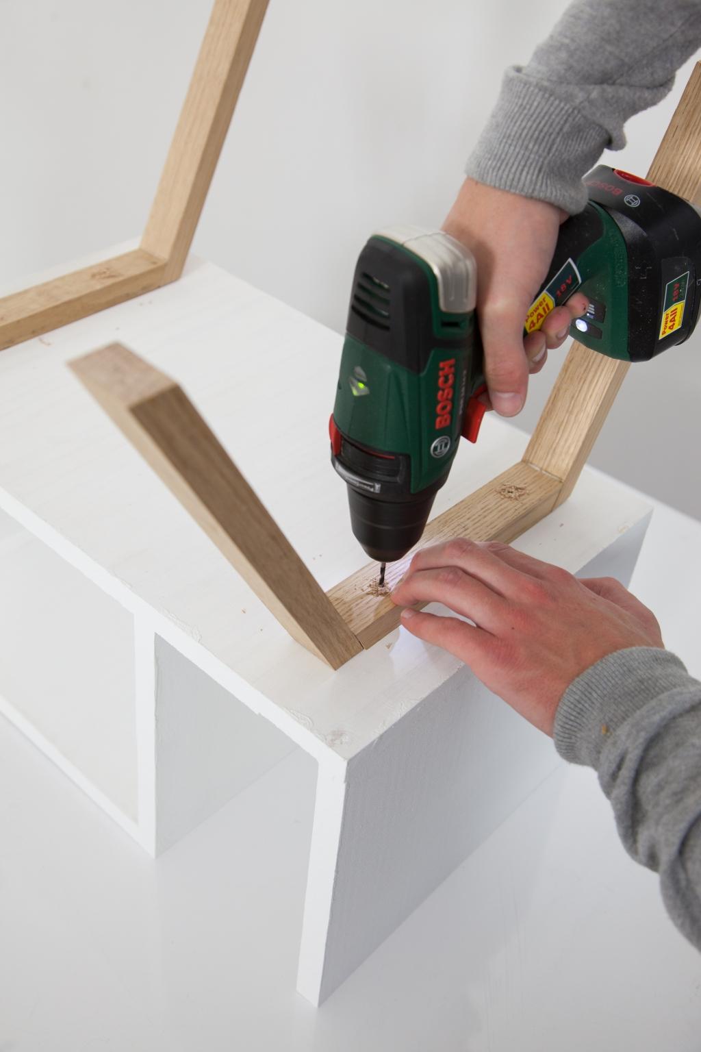 Créer une table de chevet - Étape 14