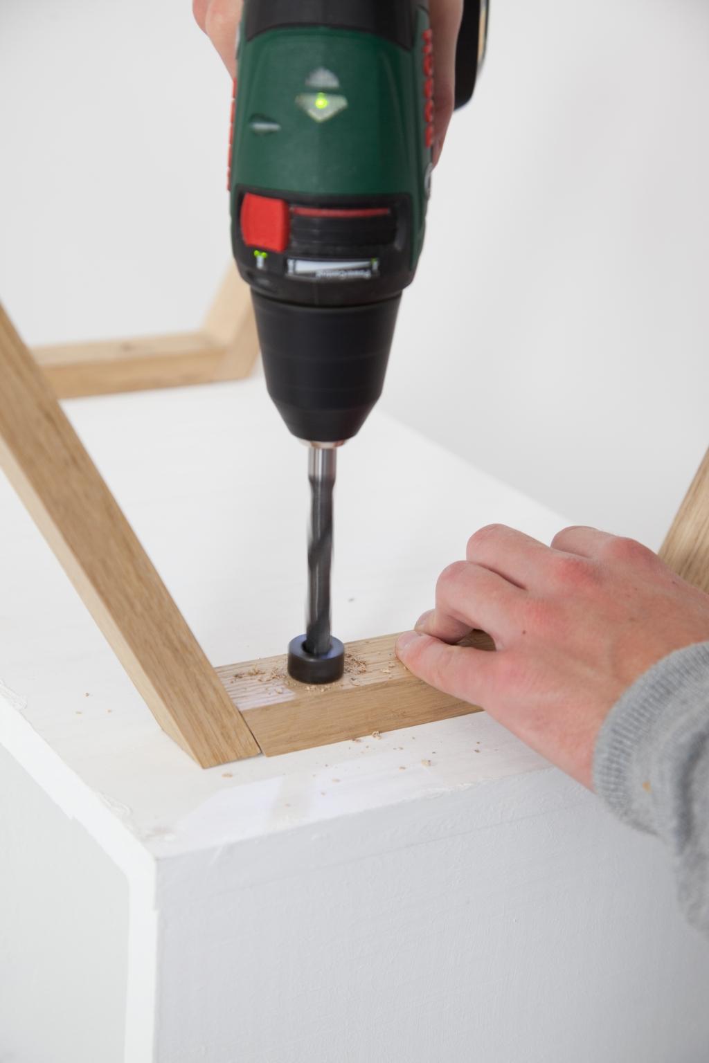 Créer une table de chevet - Étape 15