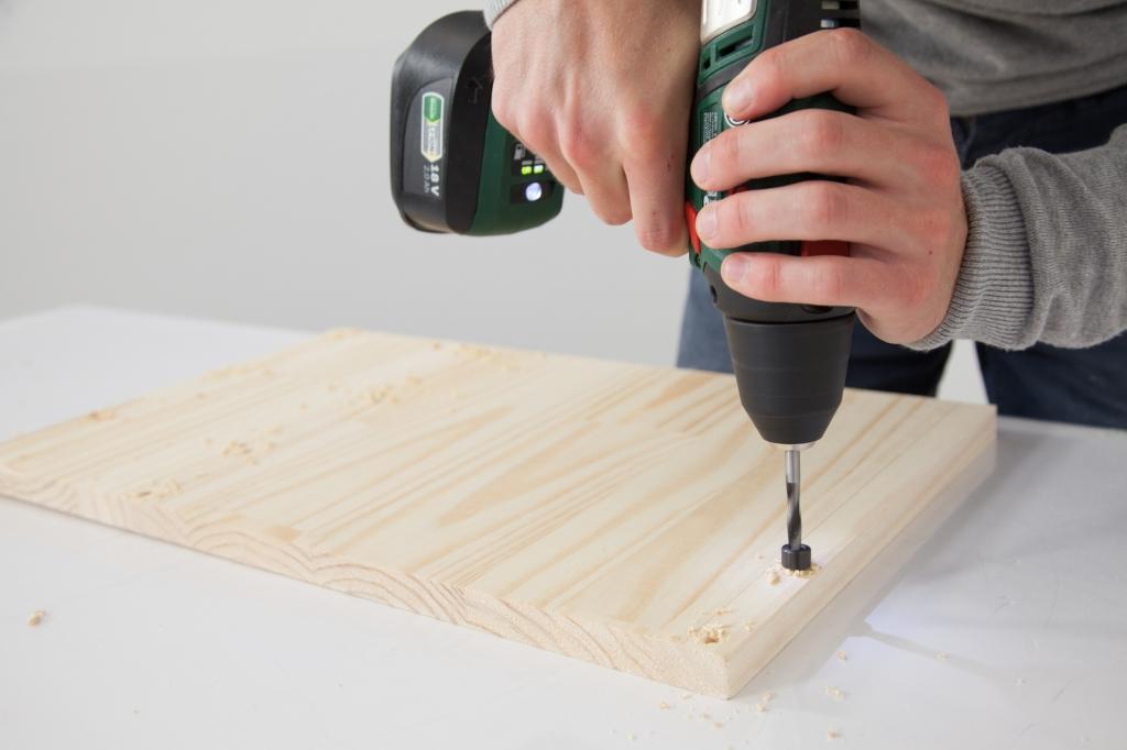 Créer une table de chevet - Étape 4