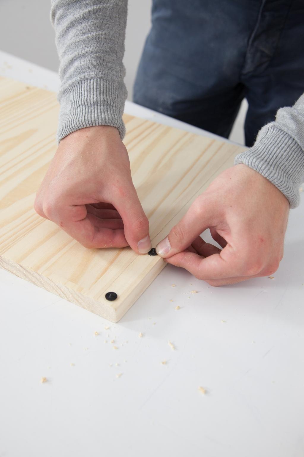 Créer une table de chevet - Étape 5