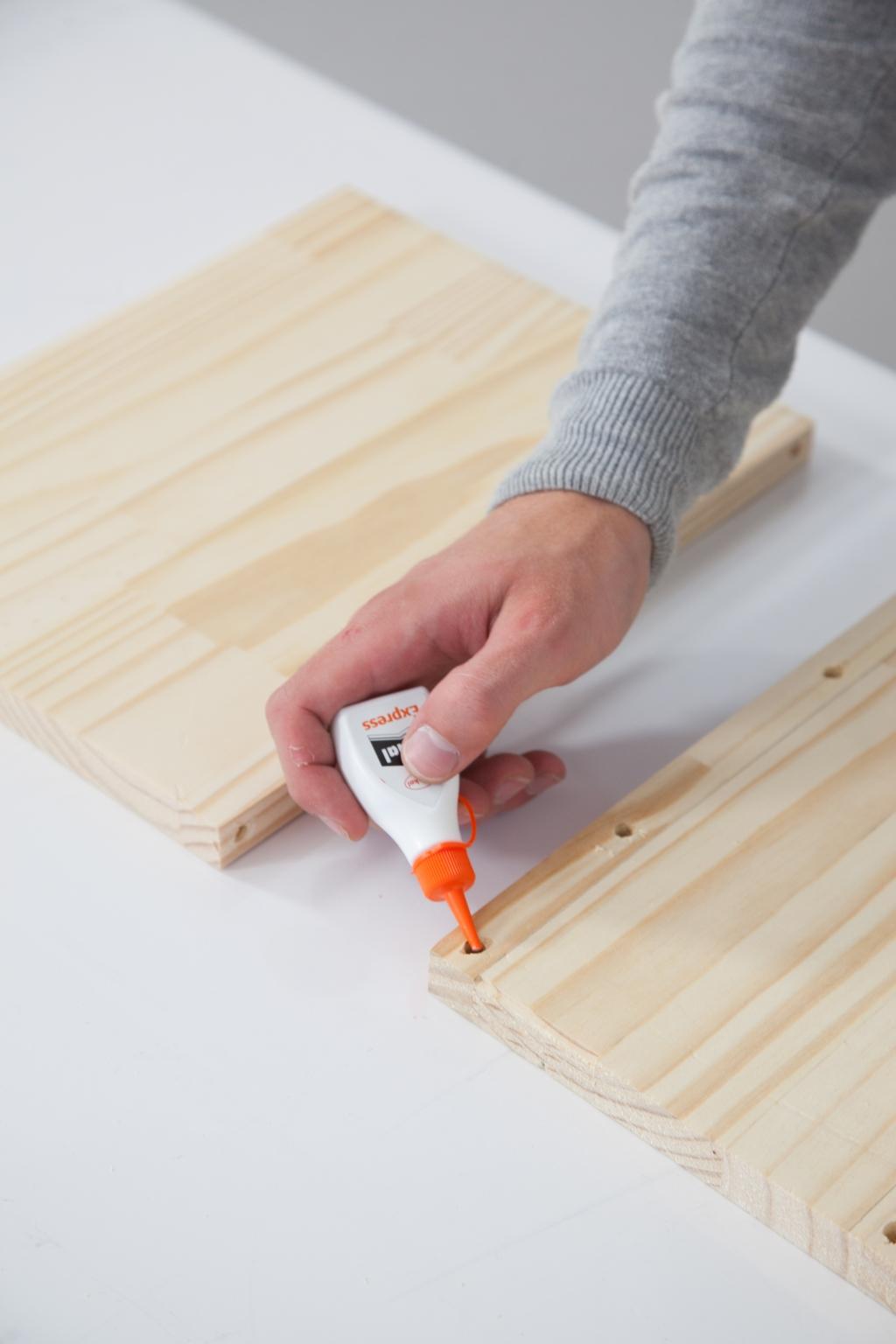 Créer une table de chevet - Étape 7