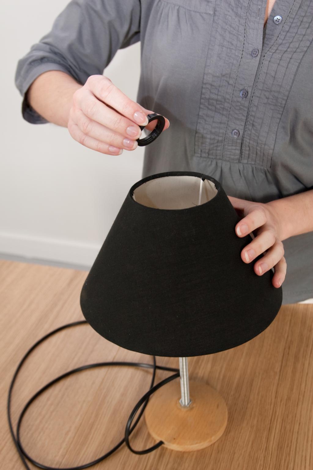 Monter une lampe