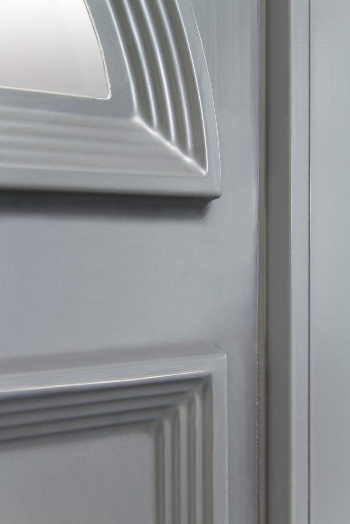 Repeindre une porte d'entrée en PVC Étape 12