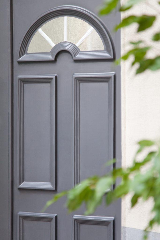 Repeindre une porte d'entrée en PVC Étape 14