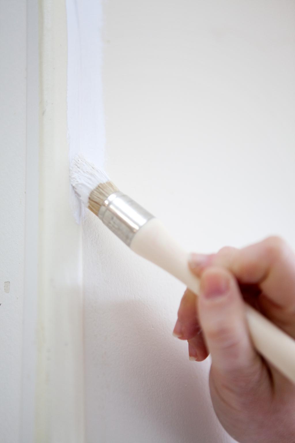 Peindre des murs avec de la peinture anti bruit - Étape 1