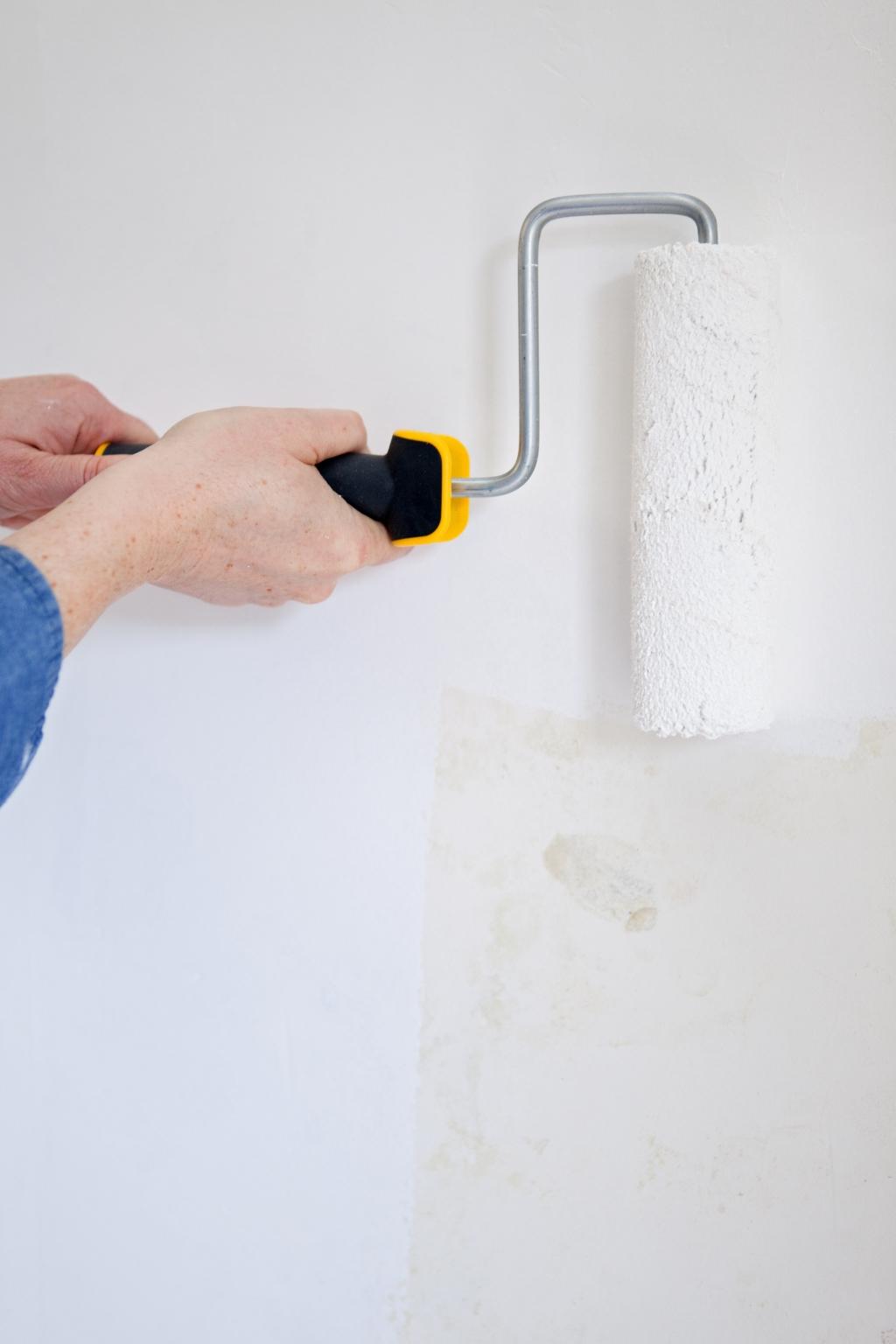 Peindre des murs avec de la peinture anti bruit - Étape 3