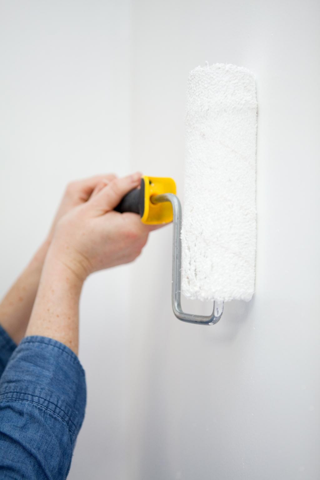 Peindre des murs avec de la peinture anti bruit - Étape 5