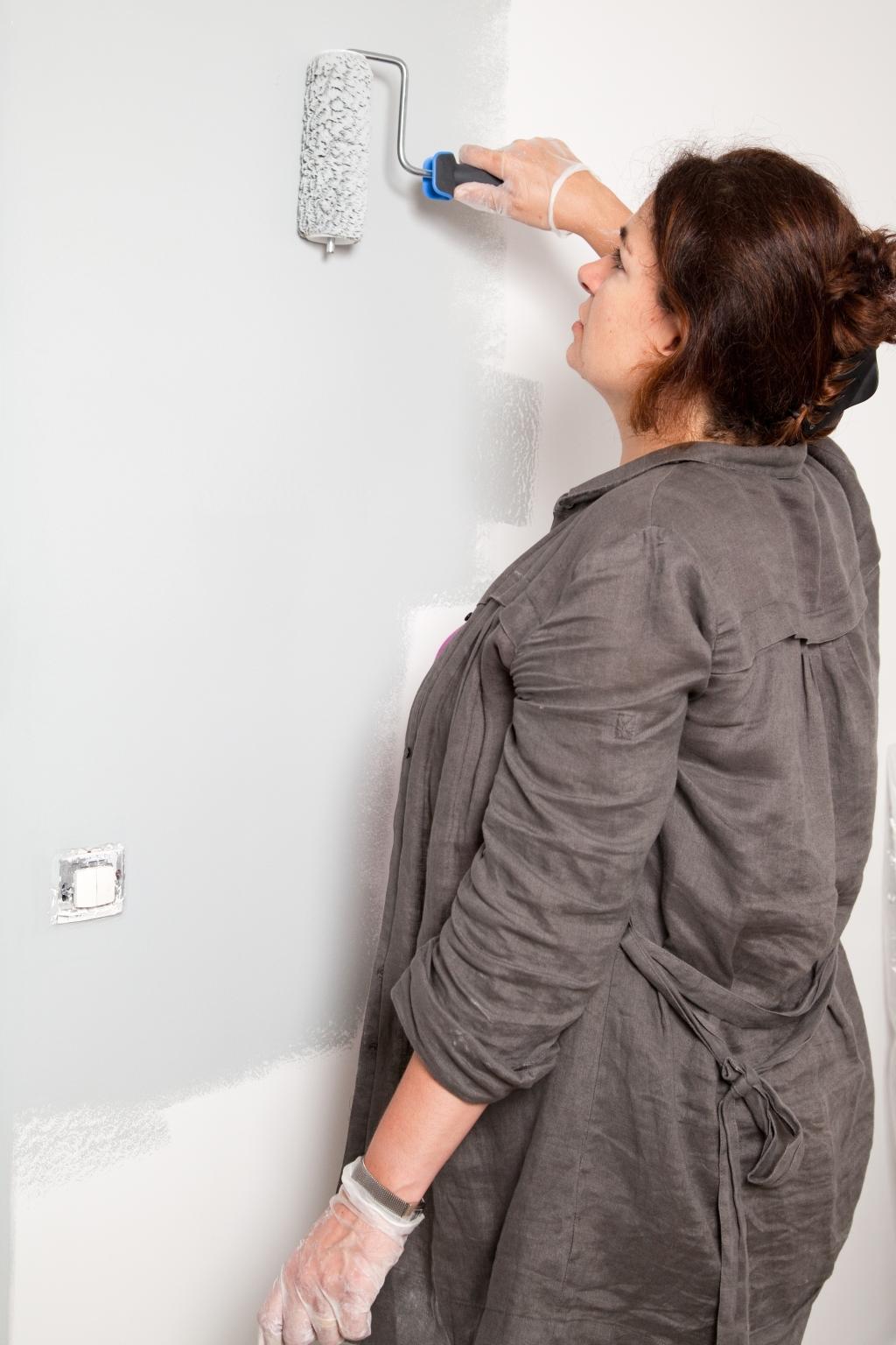 Peindre des murs avec de la peinture anti bruit - Étape 8
