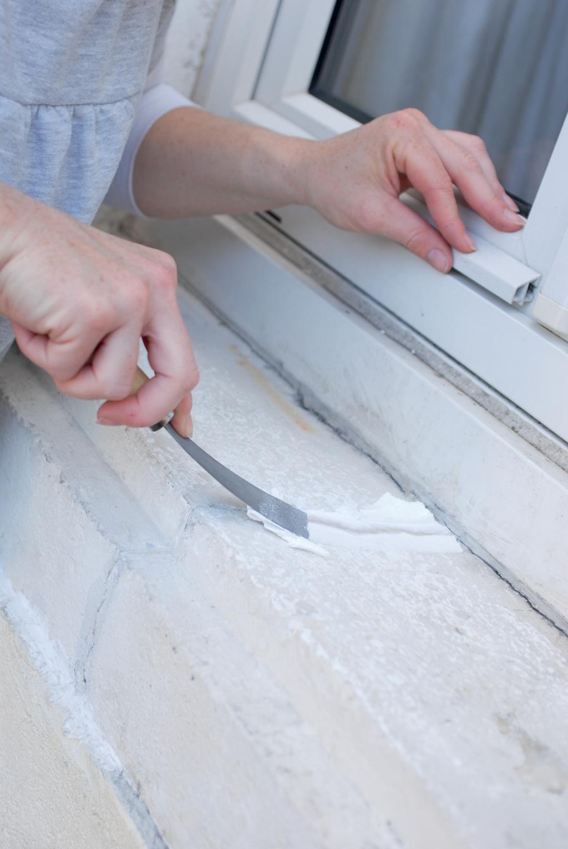 Restaurer un appui de fenêtre fissuré