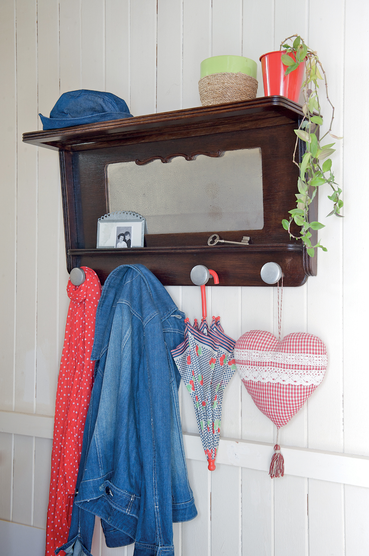 porte manteau diy family. Black Bedroom Furniture Sets. Home Design Ideas