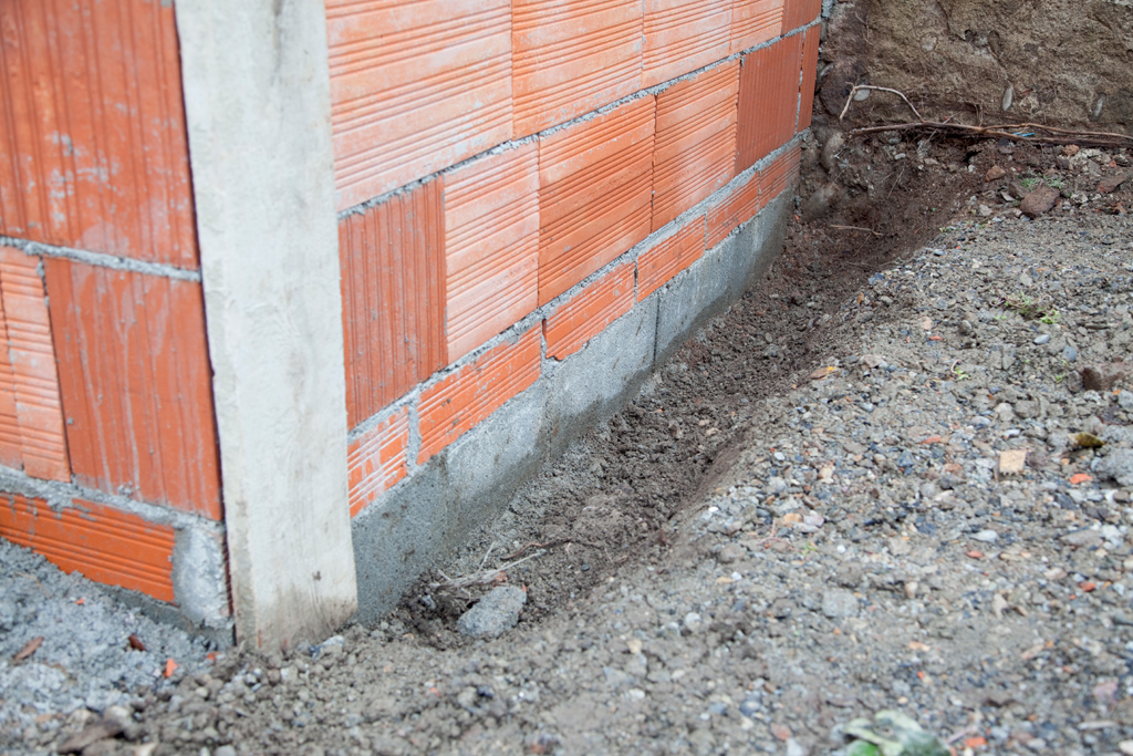 Imperméabiliser les fondations d'une maison