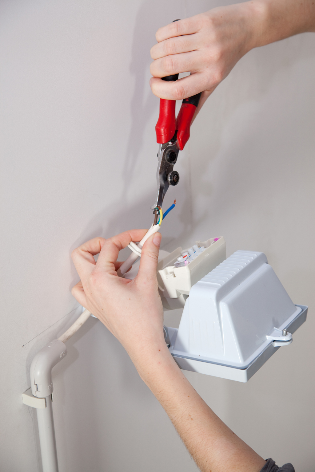 Installer un éclairage automatique d'extérieur