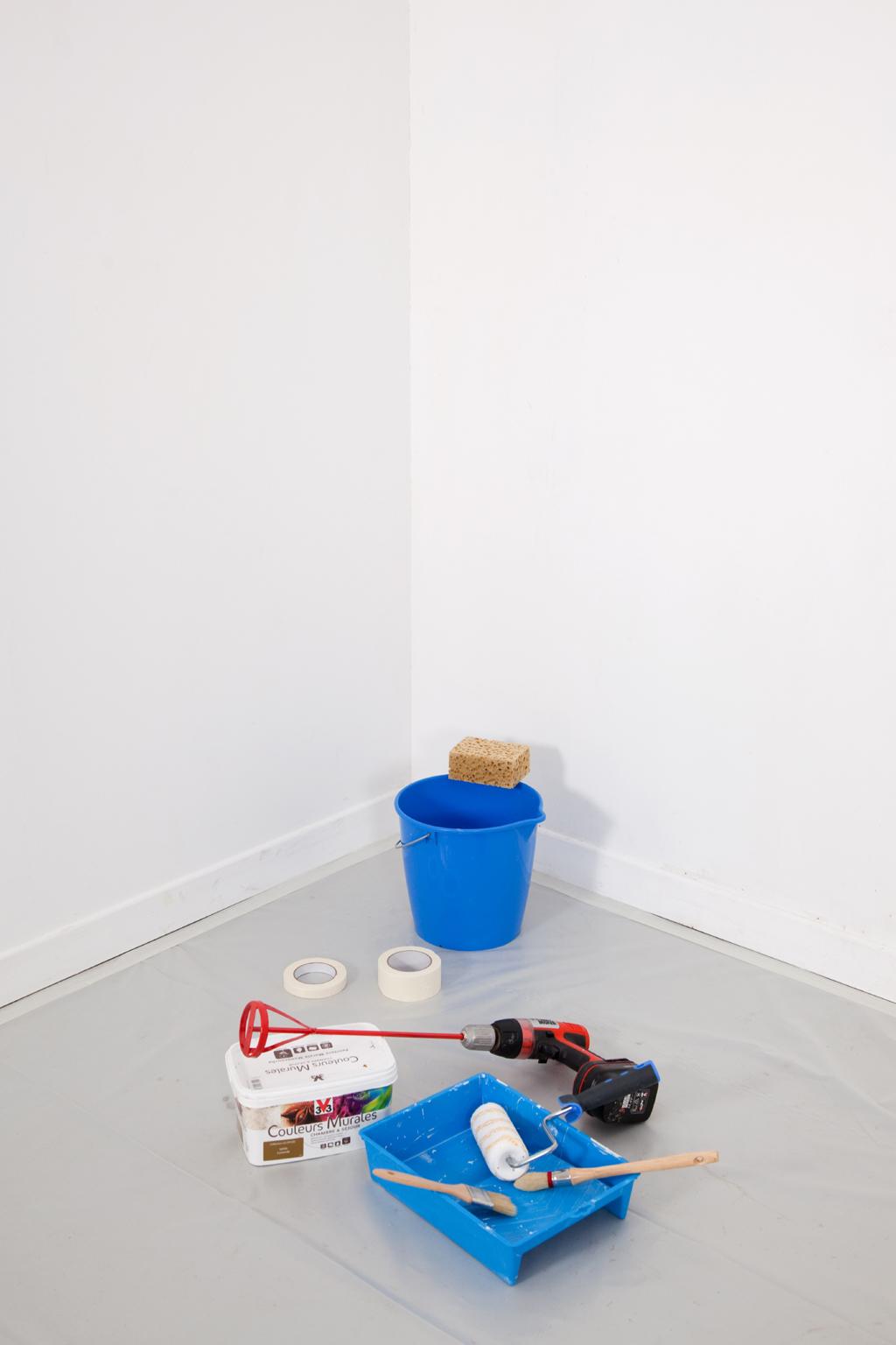 Protéger une pièce avant des travaux de peinture