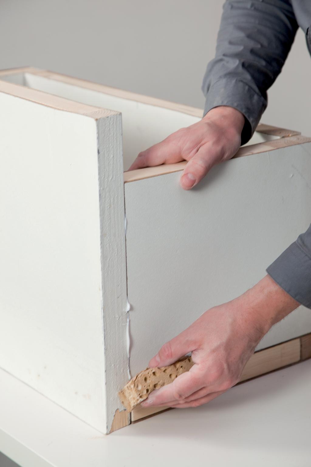 Transformer une porte en coffre
