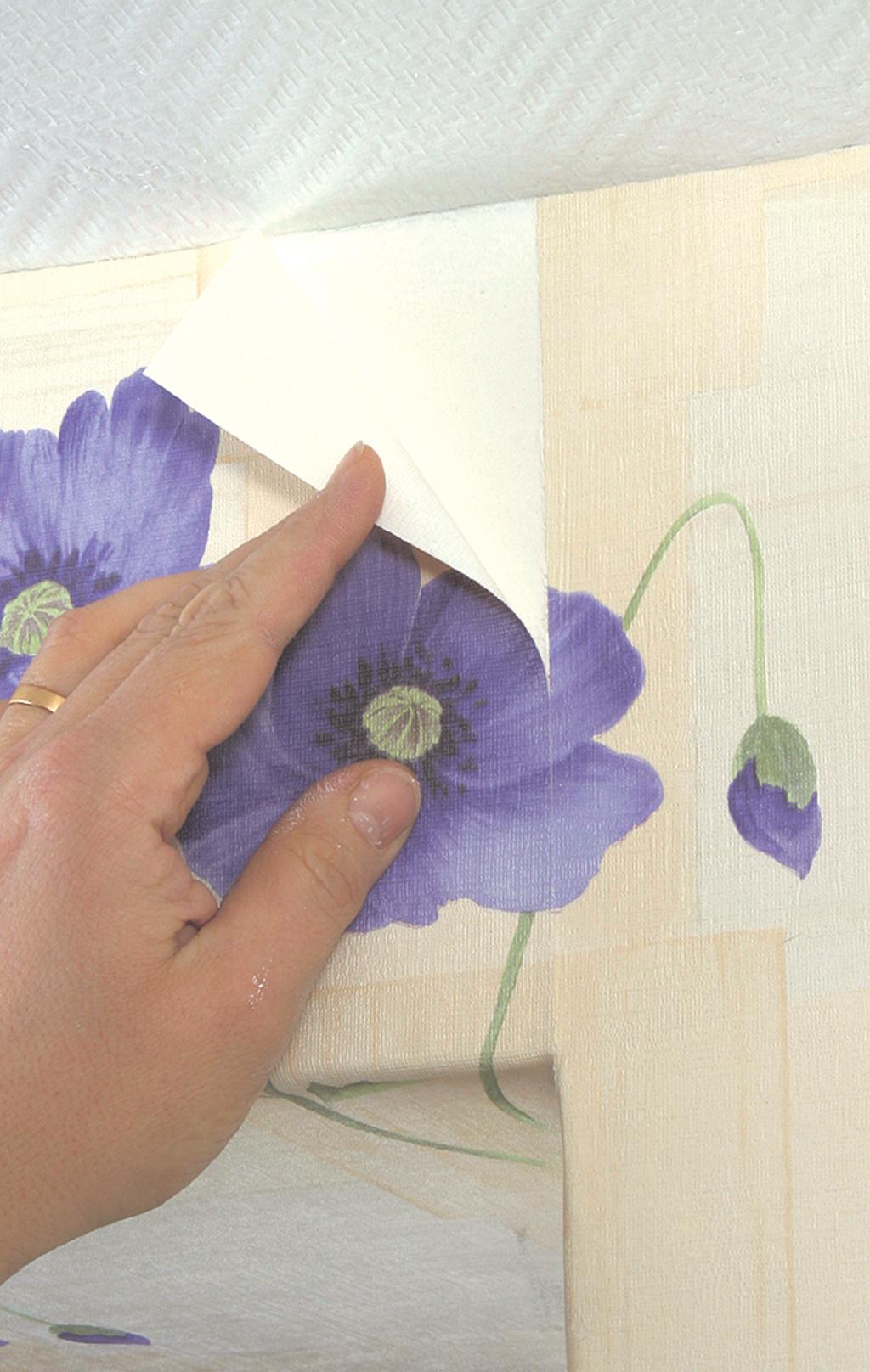 Poser du papier peint à raccord droit   DIY Family