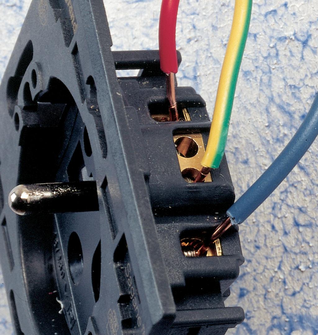 Bien raccorder des fils électriques