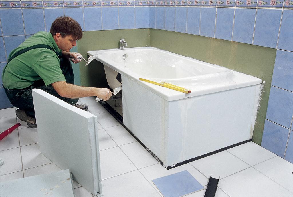 Réaliser le tablier d'une baignoire | DIY Family