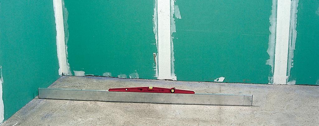 Vérifier l'horizontalité d'un sol à carreler