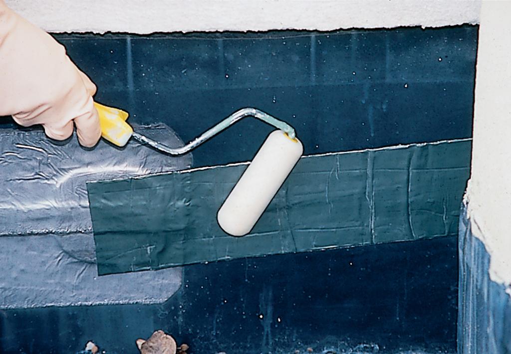 Réparer une bâche d'étanchéité