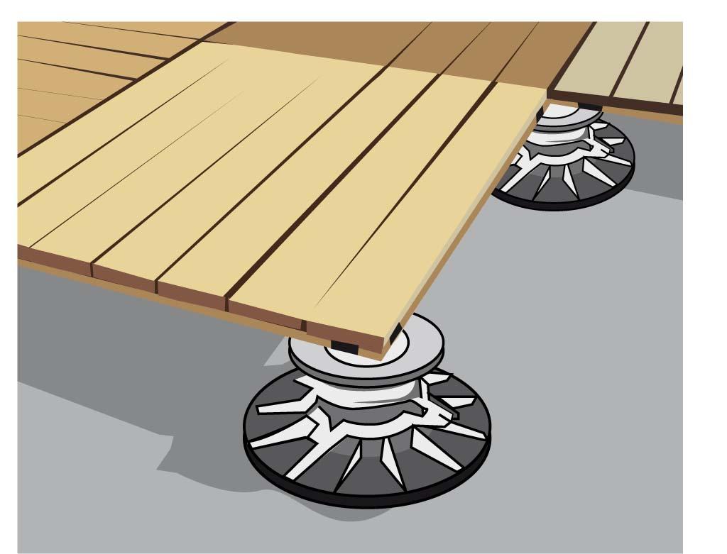 Poser une terrasse en bois : préparer le sol