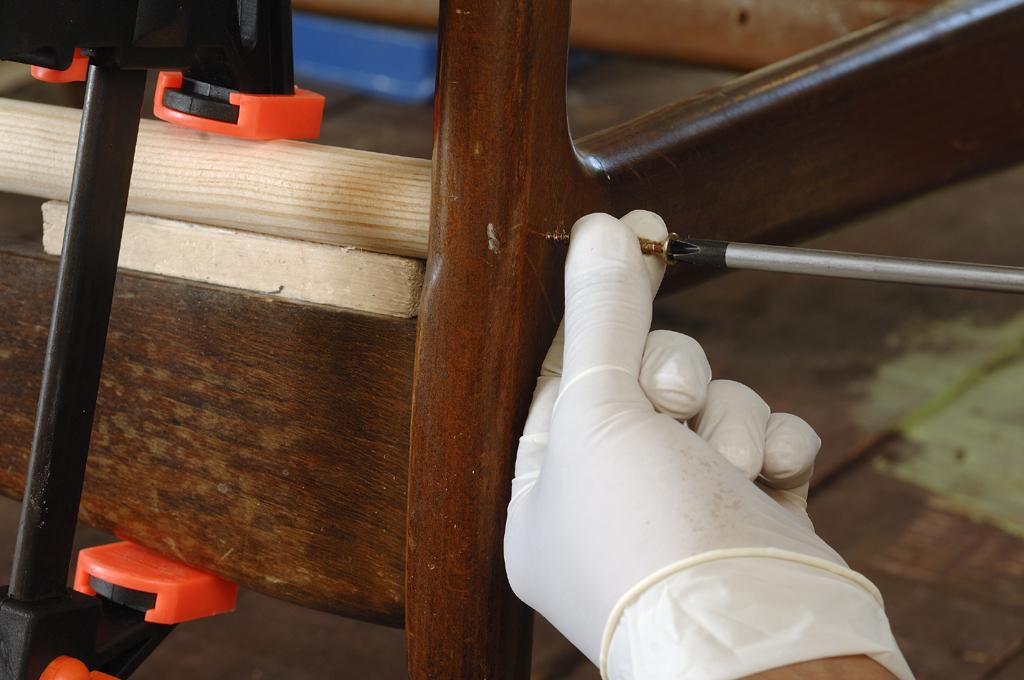 Transformer un fauteuil en balancelle