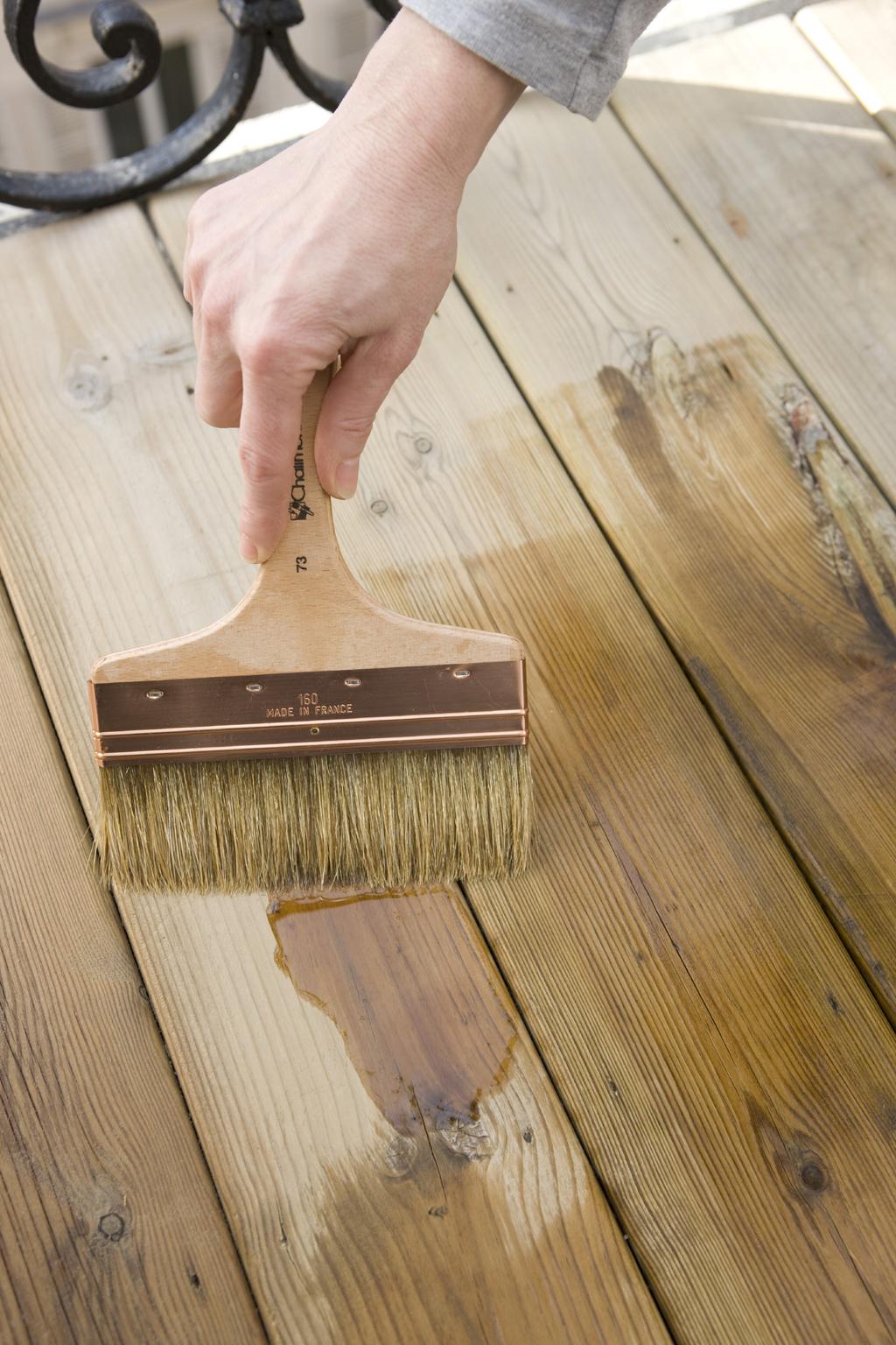 Renover une terrasse en bois :