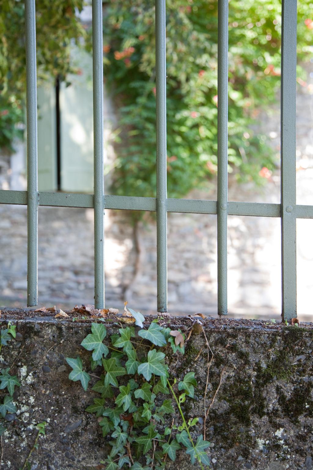 repeindre une grille et une porte d'entrée