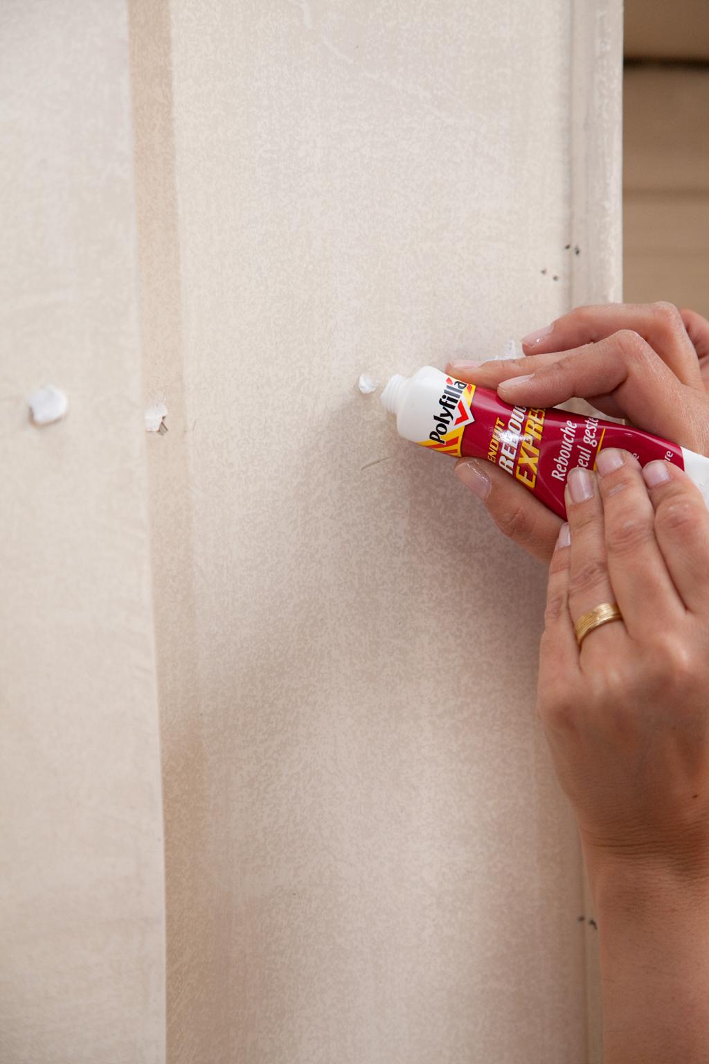 Réparer des murs intérieurs