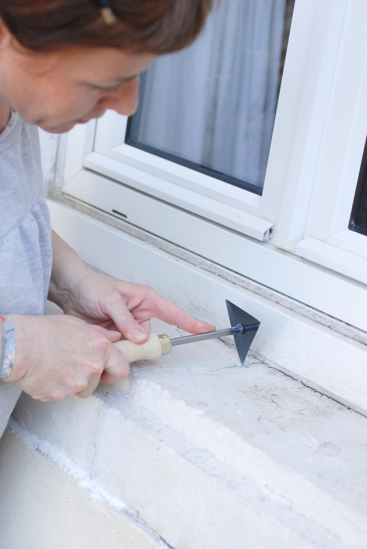 Refaire un appui de fenêtre