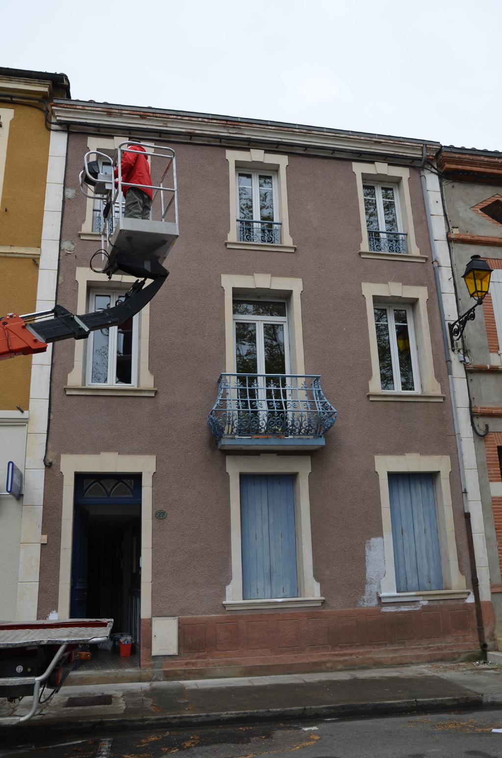 Repeindre une façade