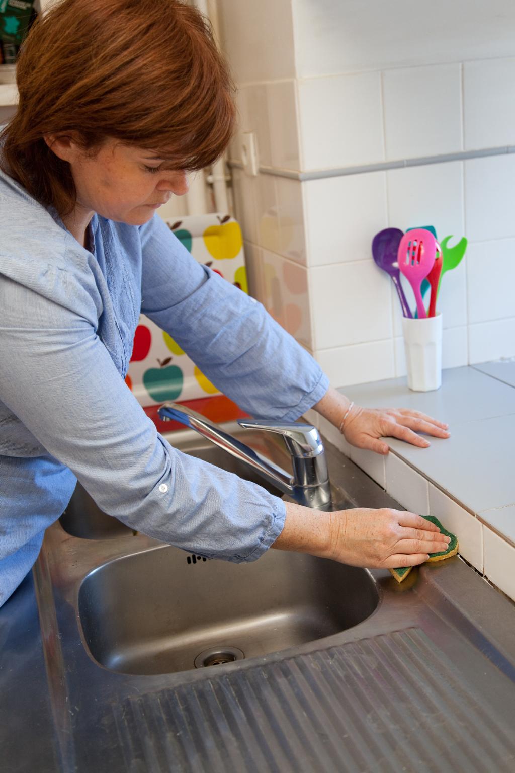Changer le joint d'un évier de cuisine