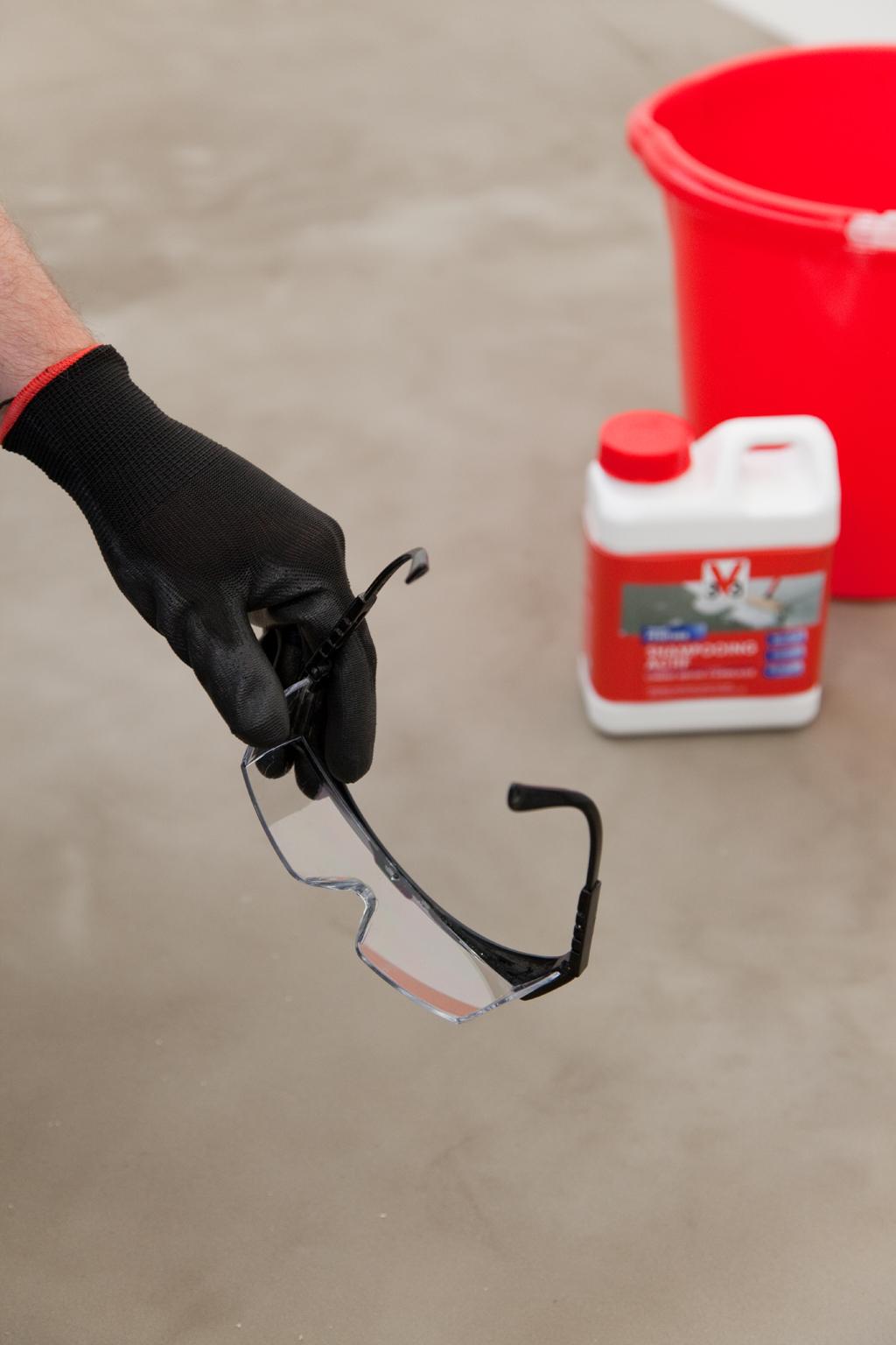 Repeindre le sol de garage