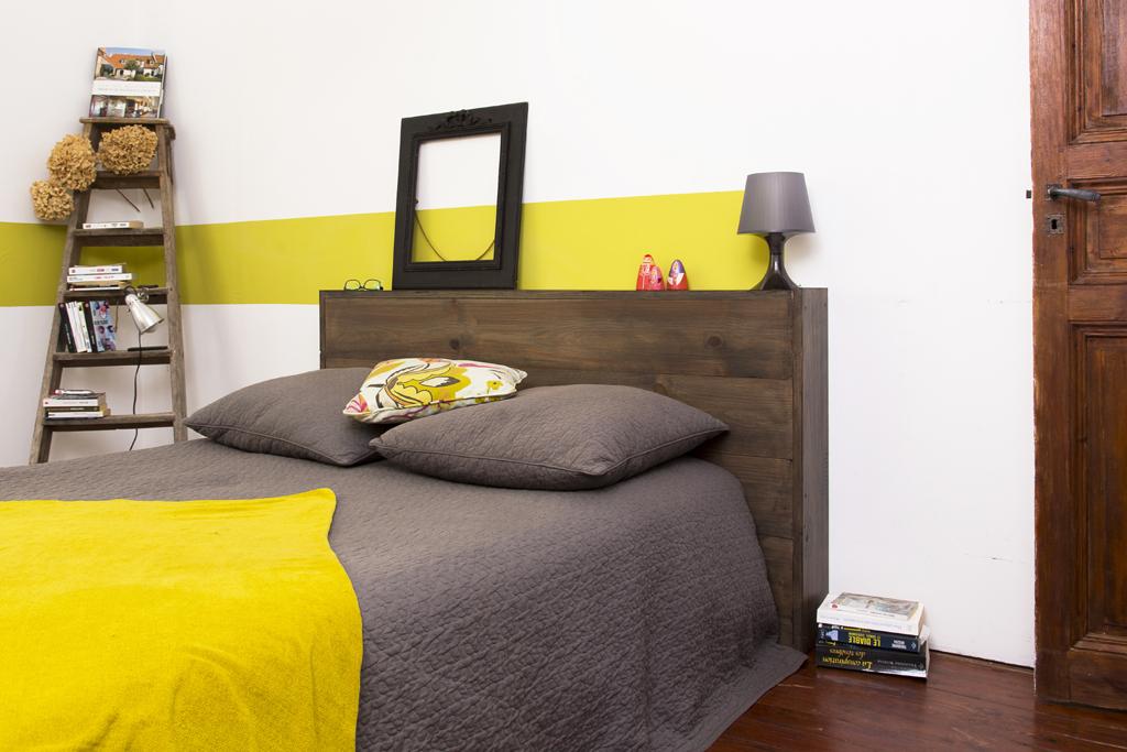 Creer une tete de lit avec du lambris