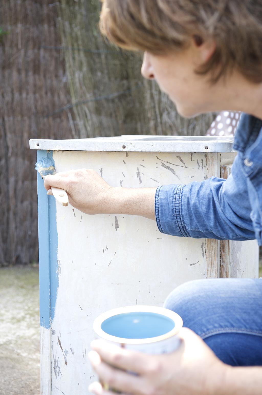 Relooker un meuble de jardin