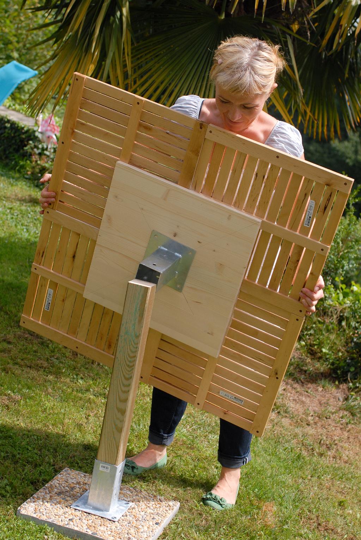 Créer une table de jardin