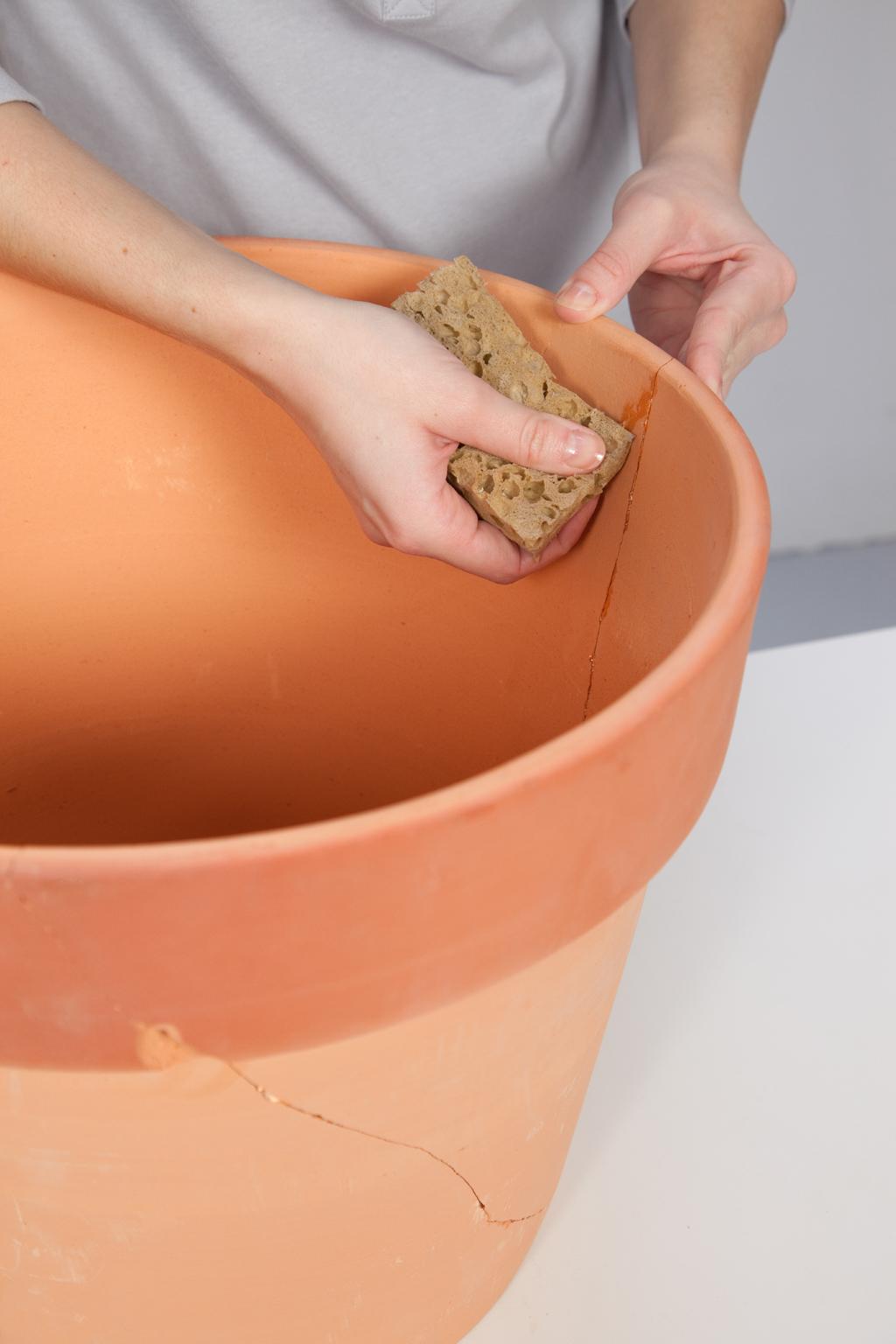 Reparer un cache-pot