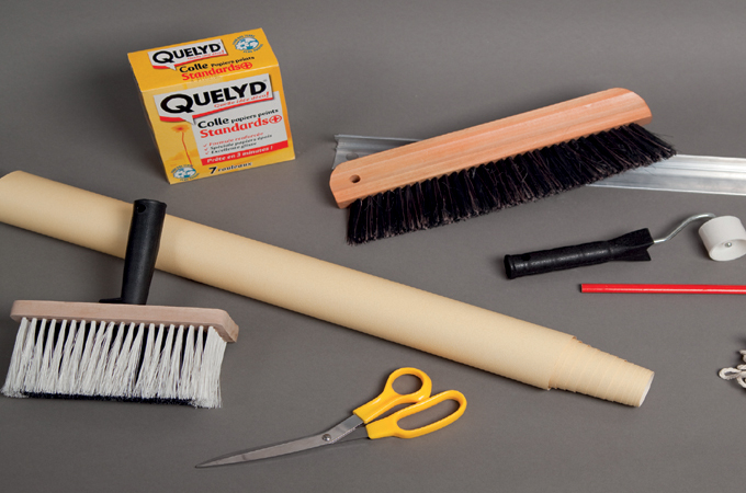 Poser du papier peint : la boîte à outils