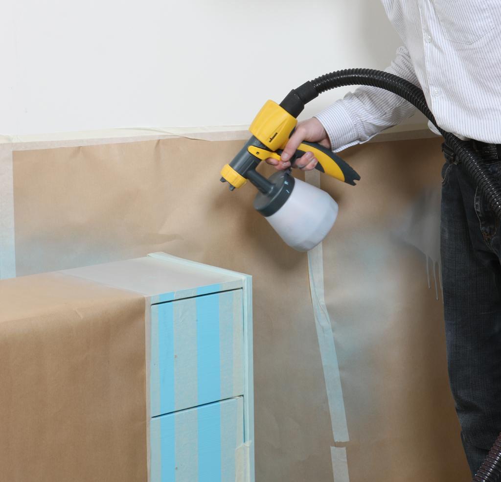 Peindre un meuble au pistolet