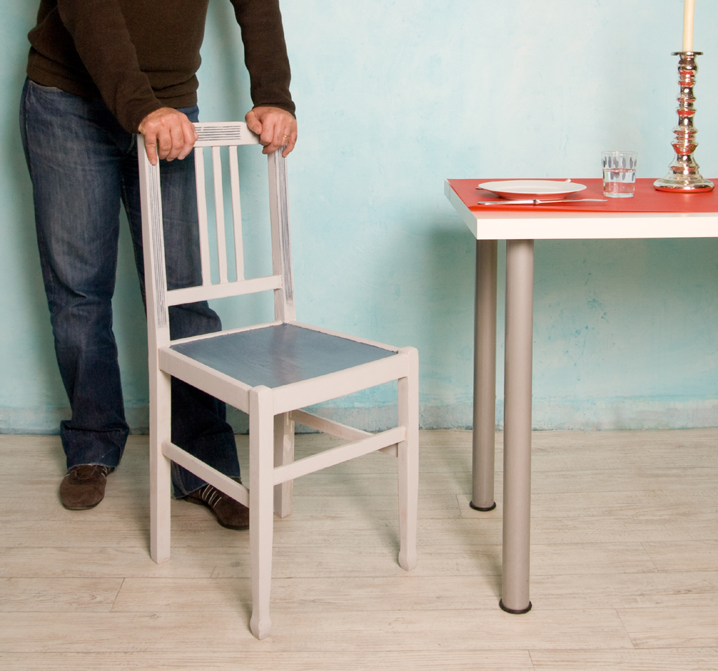 Renover une vieille chaise