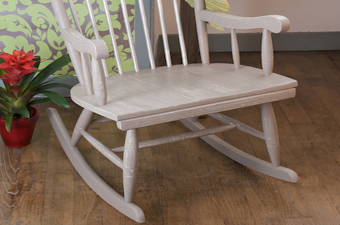 Renover un rocking-chair