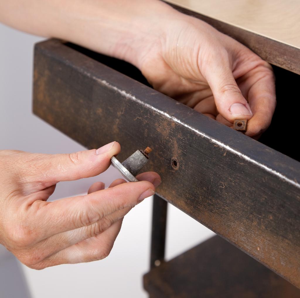 Renover une table de chevet