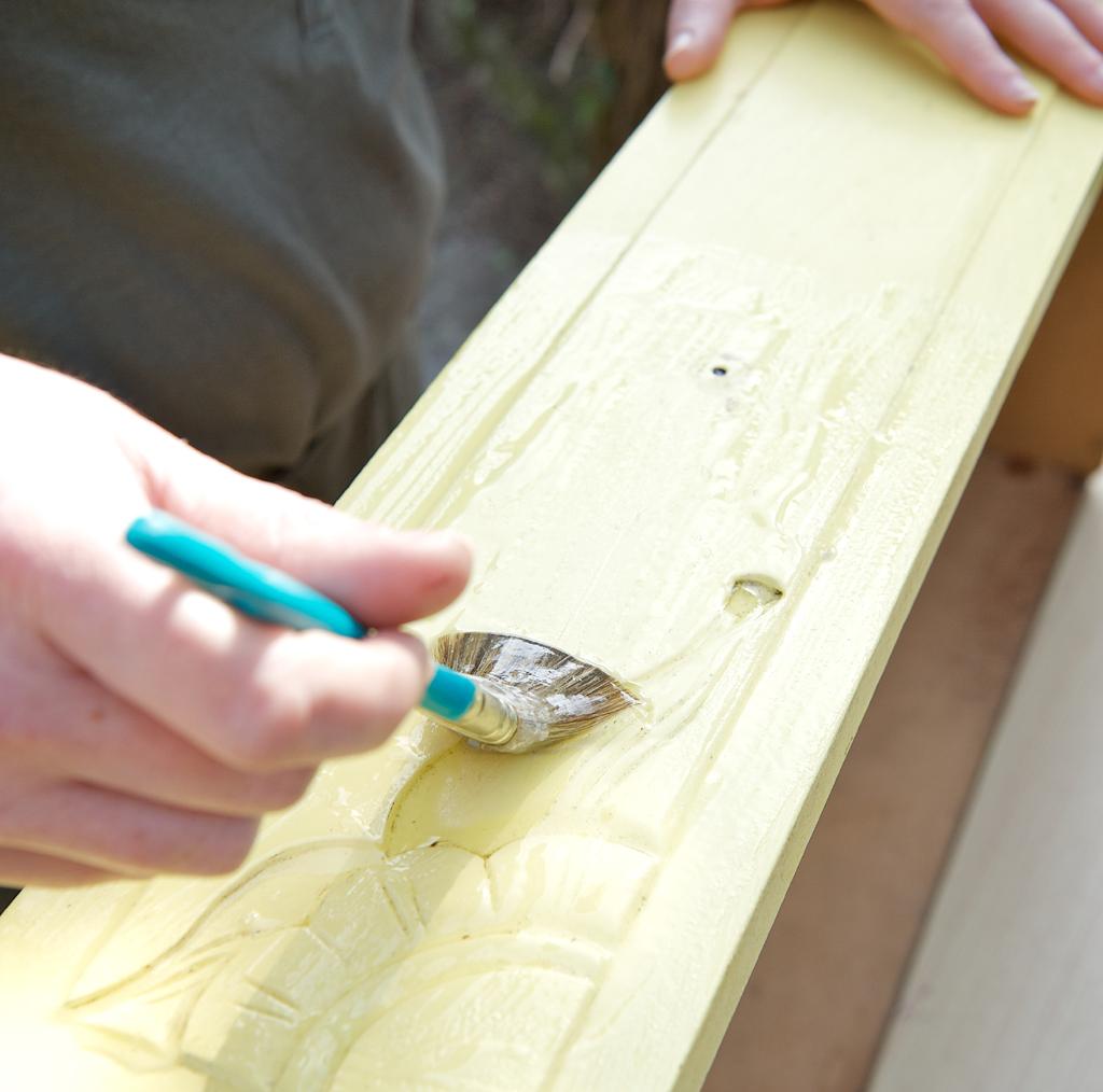 Renover un meuble laque