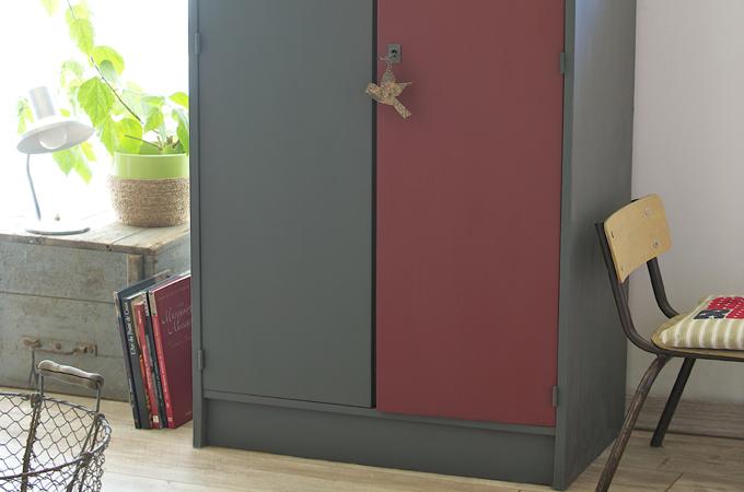 Redécorer une vieille armoire