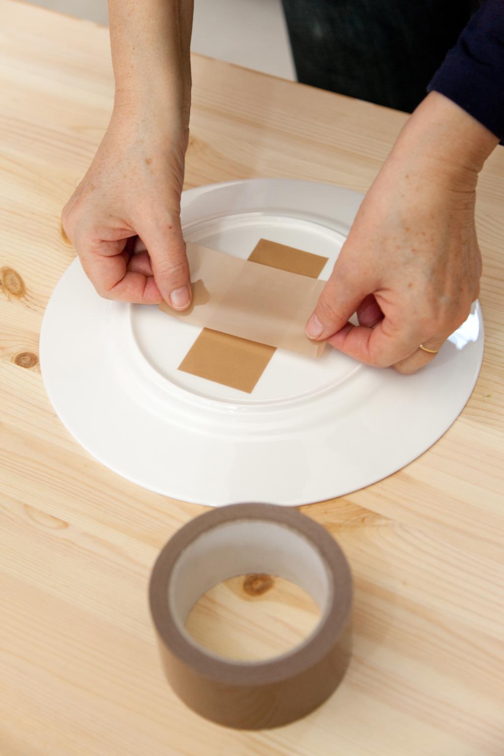 Créer une pendule avec une assiette