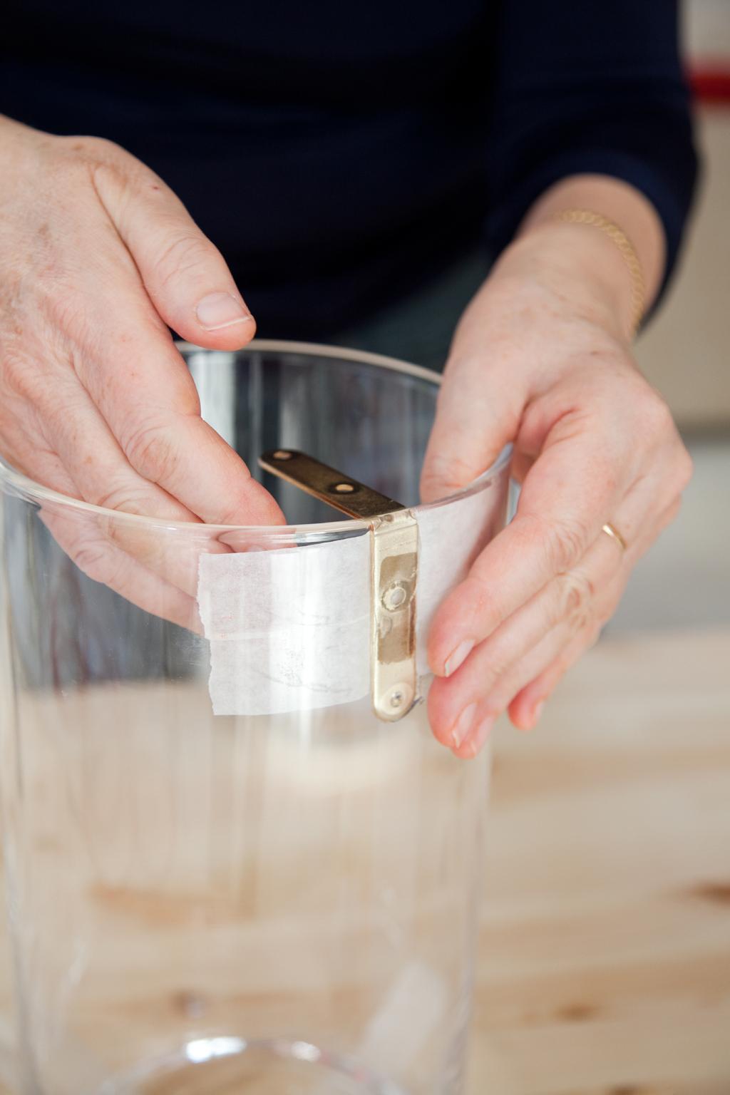 Creer une lampe transaparente avec un vase