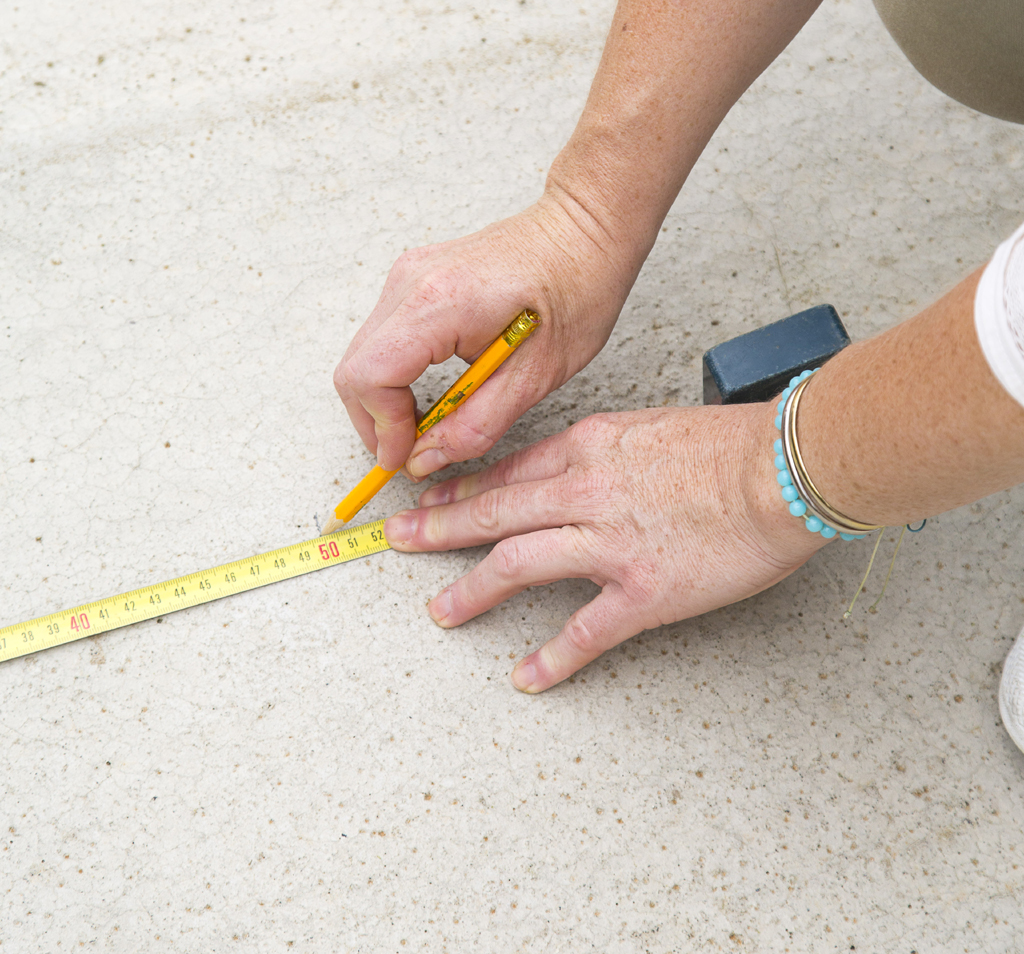 Peindre un sol béton d'extérieur